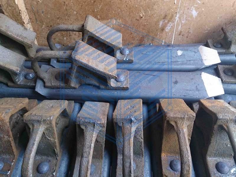 Башмак горочный стальной (чертеж 8739.00СБ)