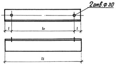 Крепежный элемент Д-13 - чертеж