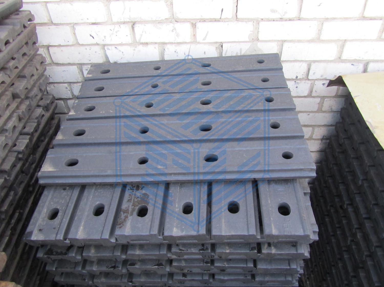 Рельсовые стыковые накладки 2Р-65