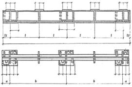 Железнодорожные балки Б-2. Чертеж.